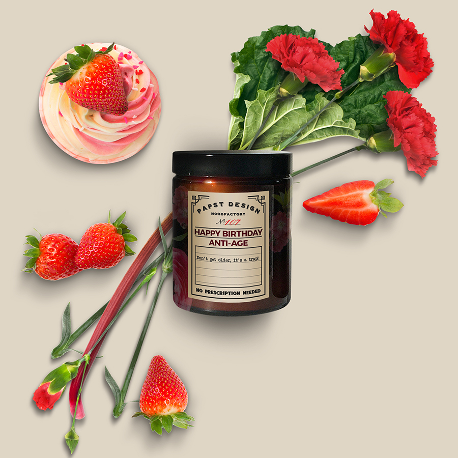 Lustige Spruche Duftkerzen 100 Natural Soy Wax Scented Candle Made In Germany With Birthday